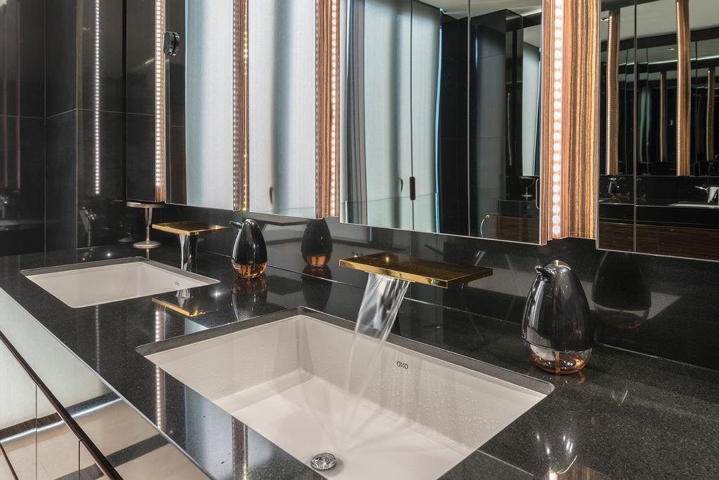 Landed, Dunsfold Drive, Interior Designer, erstudio, Sink, Conference Room, Indoors, Meeting Room, Room, Bathroom, Interior Design