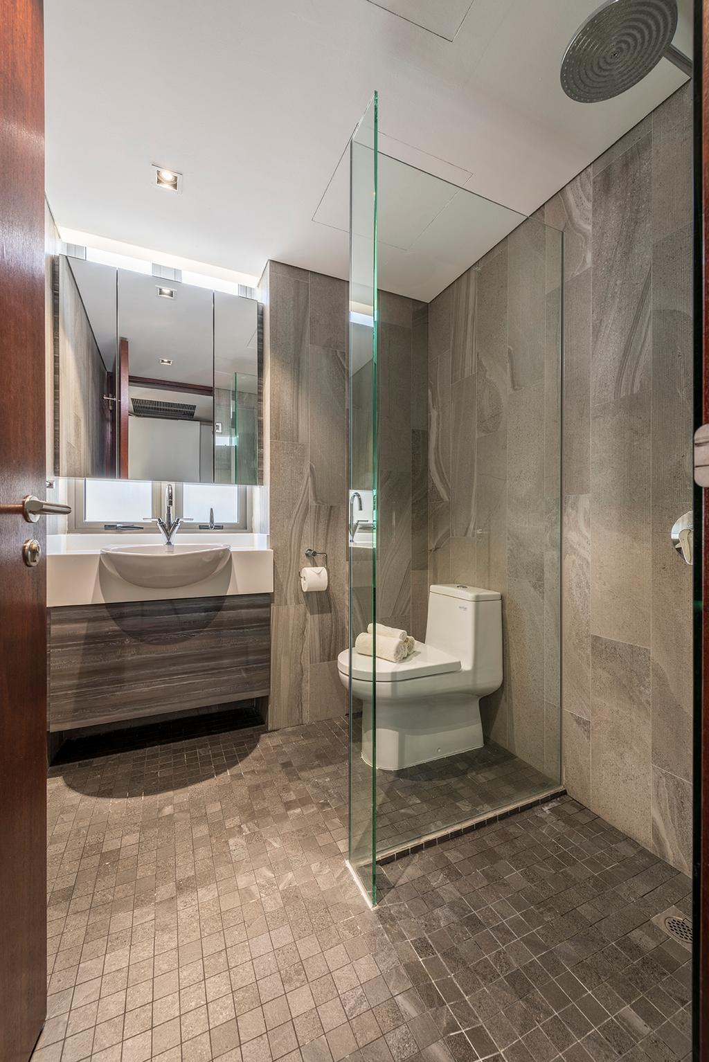 Landed, Bathroom, Dunsfold Drive, Interior Designer, erstudio, Toilet, Indoors, Interior Design, Room