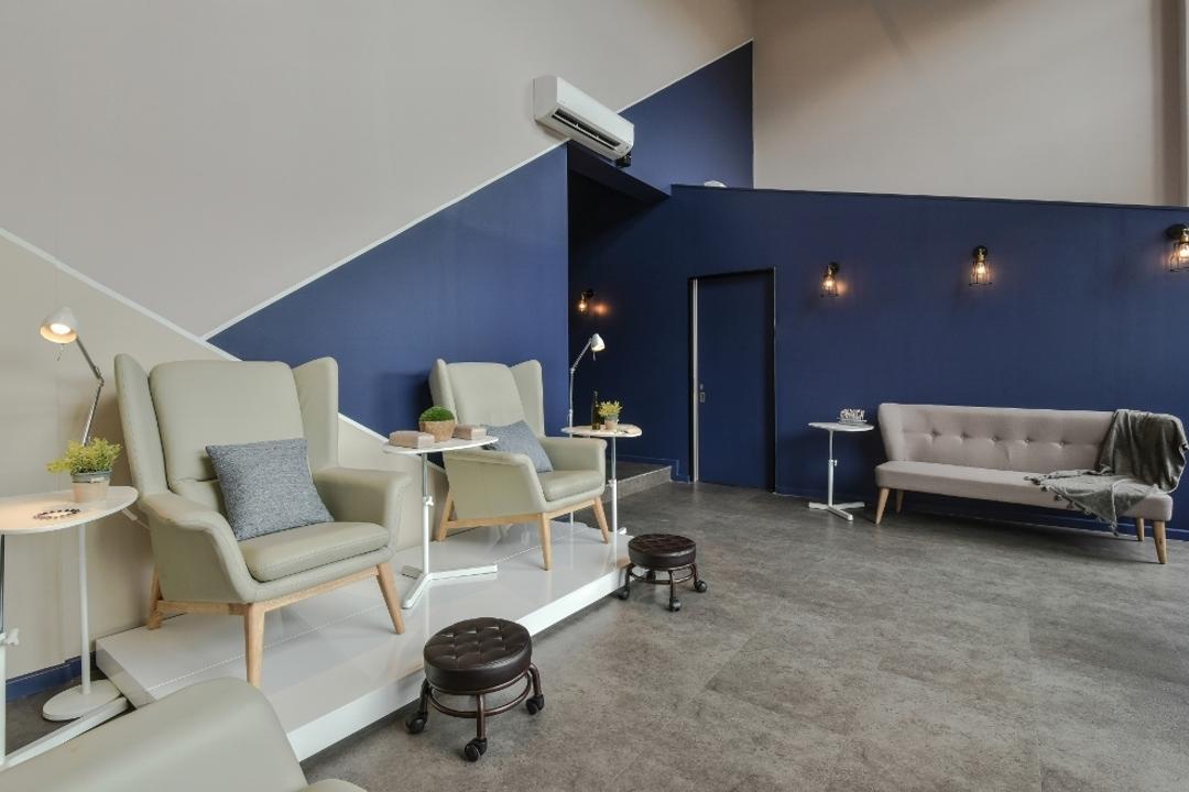 Plaza Arkadia, Desa Park City, A Moxie Associates Sdn Bhd, Minimalistic, Commercial, Chair, Furniture, Studio Couch, Indoors, Interior Design