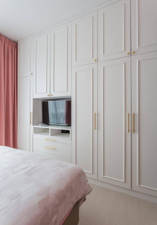 Eclectic, Condo, Bedroom, Kiaramas Ayuria, Mont Kiara, Interior Designer, A Moxie Associates Sdn Bhd, Door, Folding Door