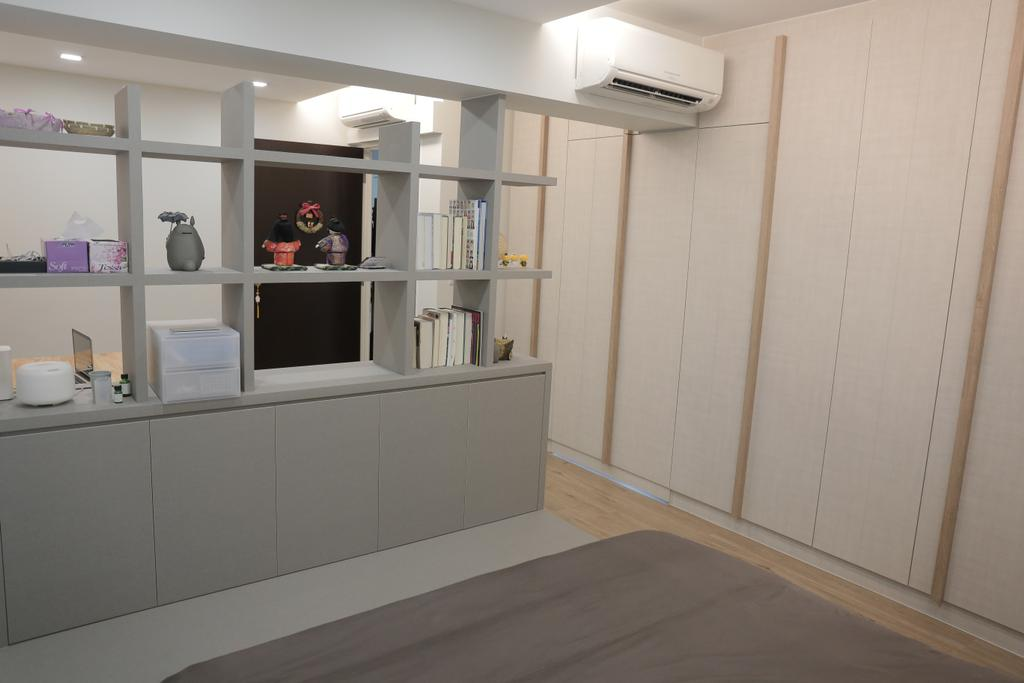 Minimalistic, HDB, Bedroom, Upper Serangoon View (Block 477B), Interior Designer, Forefront Interior