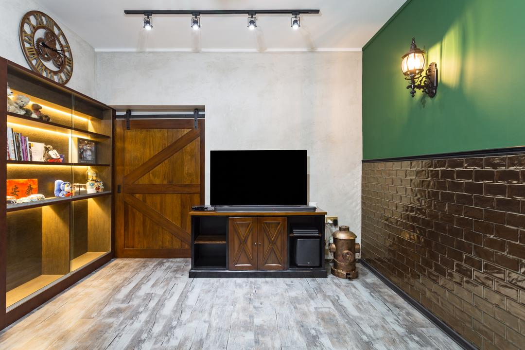 Jurong West Street 65, New Age Interior, Eclectic, Living Room, HDB, Flooring, Indoors, Interior Design