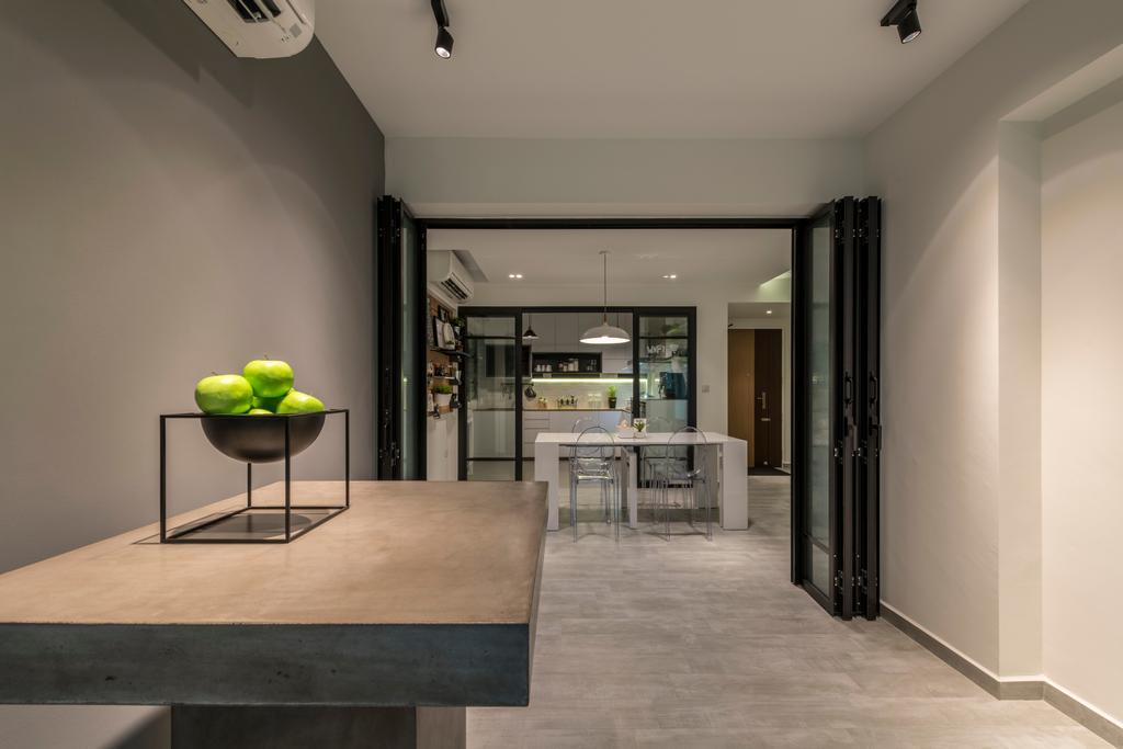 Modern, HDB, Punggol Way, Interior Designer, Meter Square
