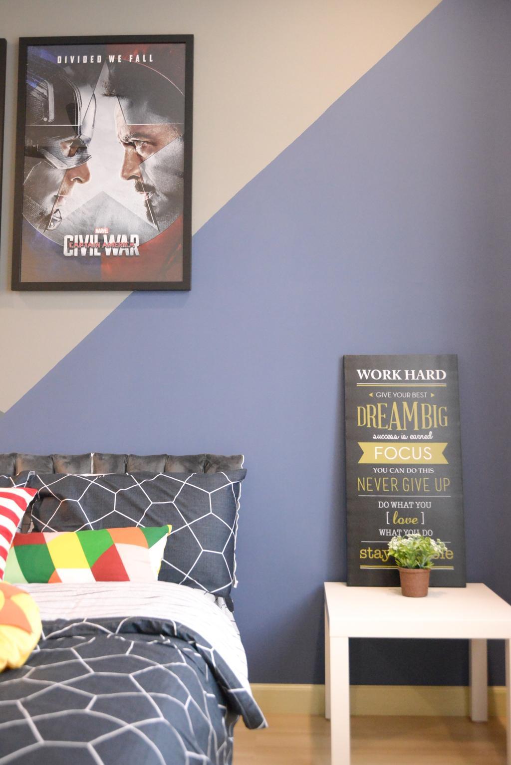 Modern, Condo, Bedroom, X2 Residence, Puchong, Interior Designer, Zyon Studio Sdn. Bhd.