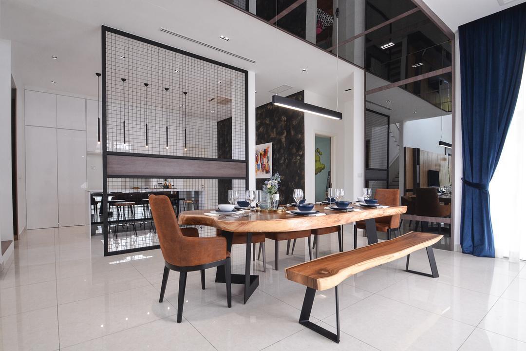 Long Branch Residence, Kota Kemuning by Zyon Interior Design