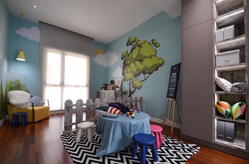 Long Branch Residence, Kota Kemuning by Zyon Studio Sdn. Bhd.