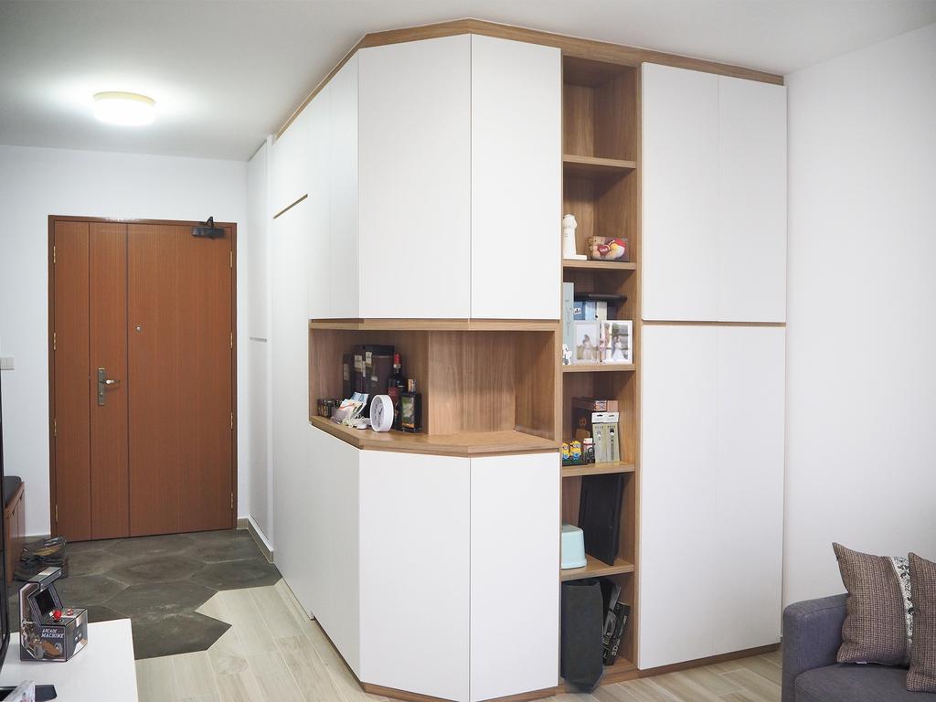 Modern, HDB, Clementi Gateway, Interior Designer, Roughsketch, Bookcase, Furniture