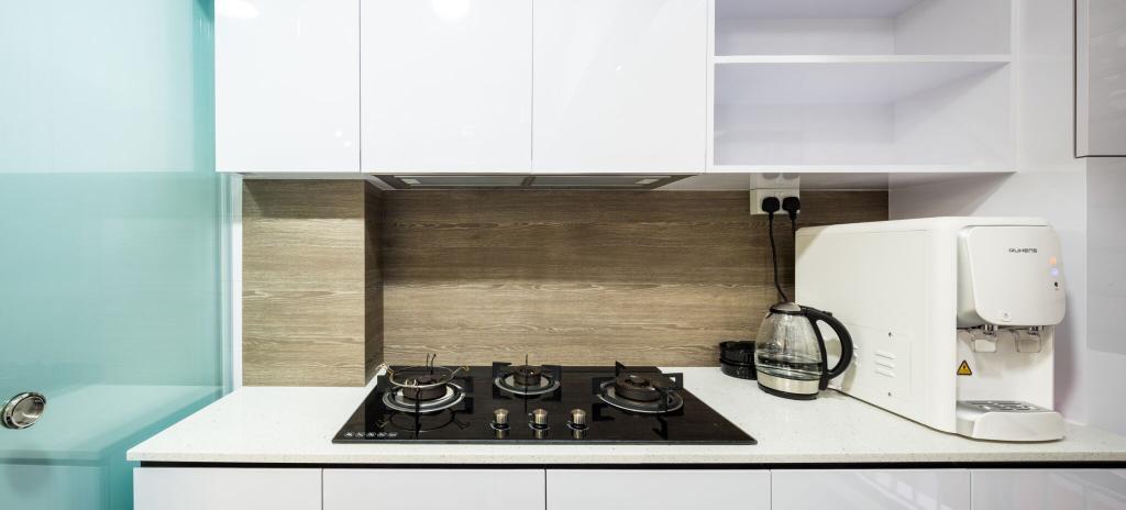 Modern, HDB, Kitchen, Choa Chu Kang Street 51, Interior Designer, Azcendant