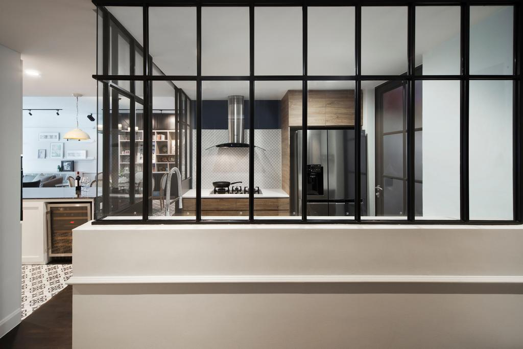 Contemporary, Condo, Grand Duchess, Interior Designer, Fuse Concept, Furniture, HDB, Building, Housing, Indoors, Loft