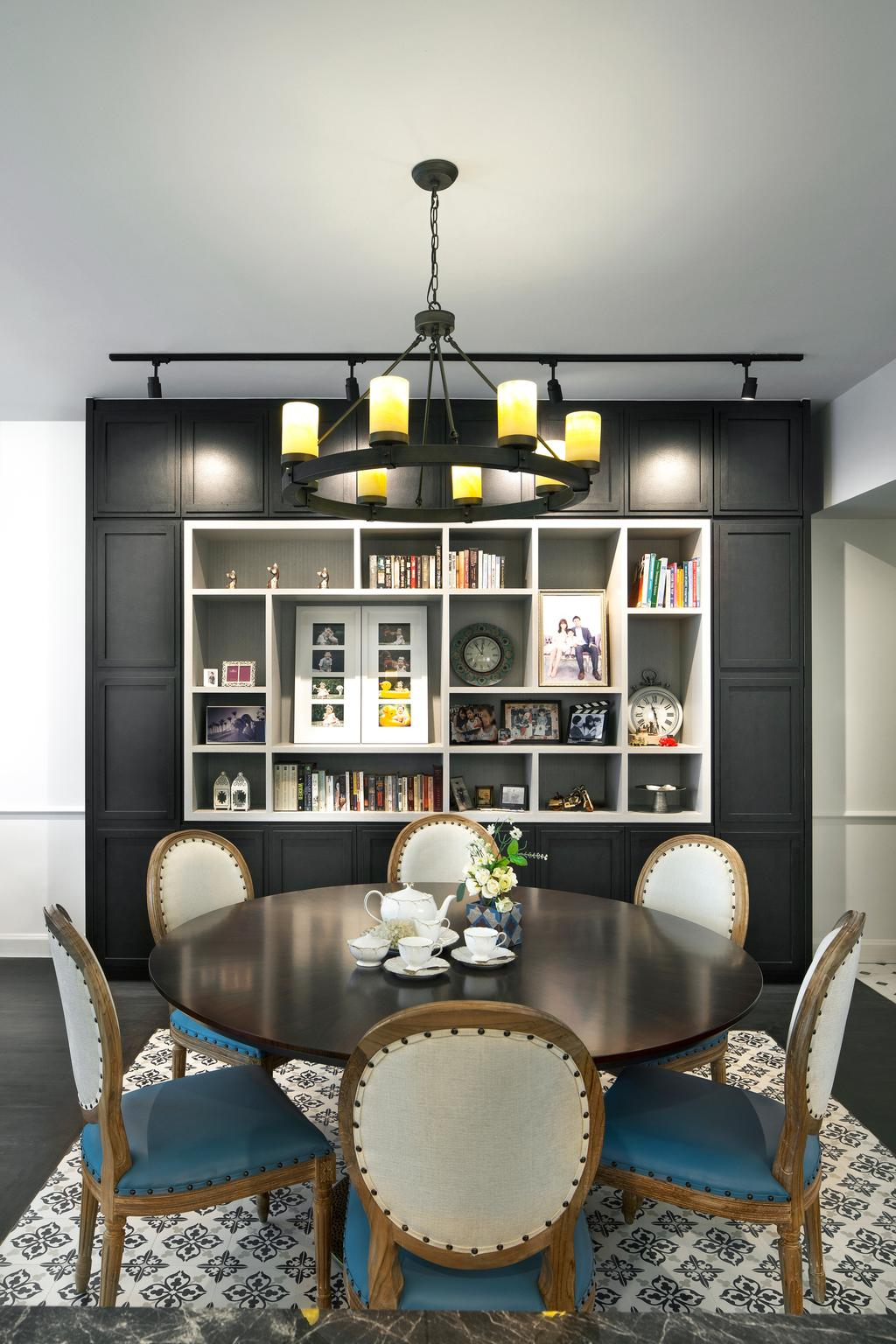 Contemporary, Condo, Dining Room, Grand Duchess, Interior Designer, Fuse Concept, Indoors, Interior Design, Room, Art, Porcelain, Pottery