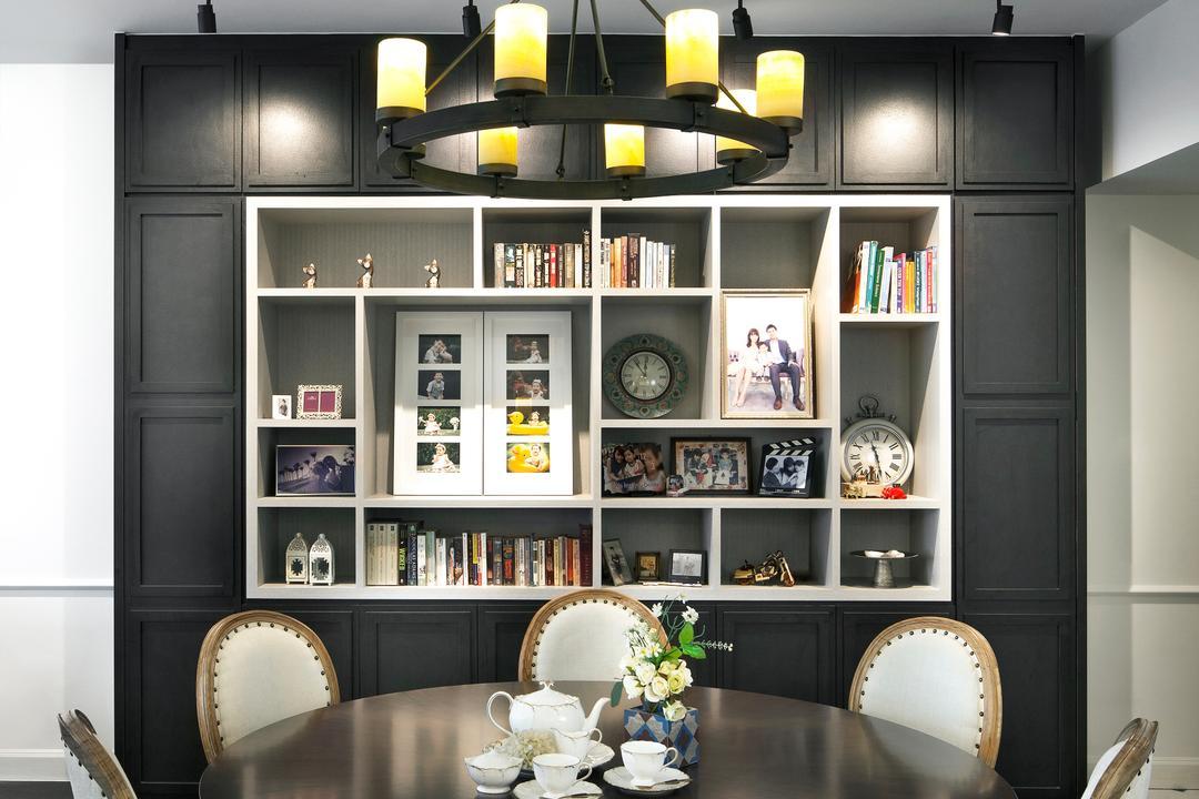 Grand Duchess, Fuse Concept, Contemporary, Dining Room, Condo, Indoors, Interior Design, Room, Art, Porcelain, Pottery