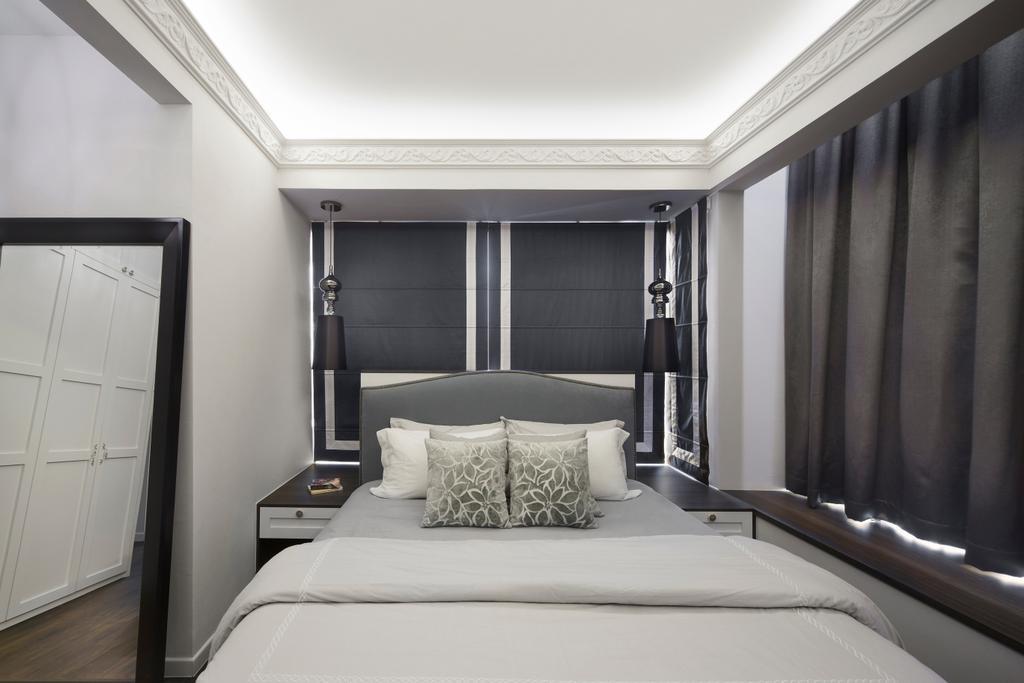 Contemporary, Condo, Bedroom, Grand Duchess, Interior Designer, Fuse Concept, Indoors, Interior Design, Room