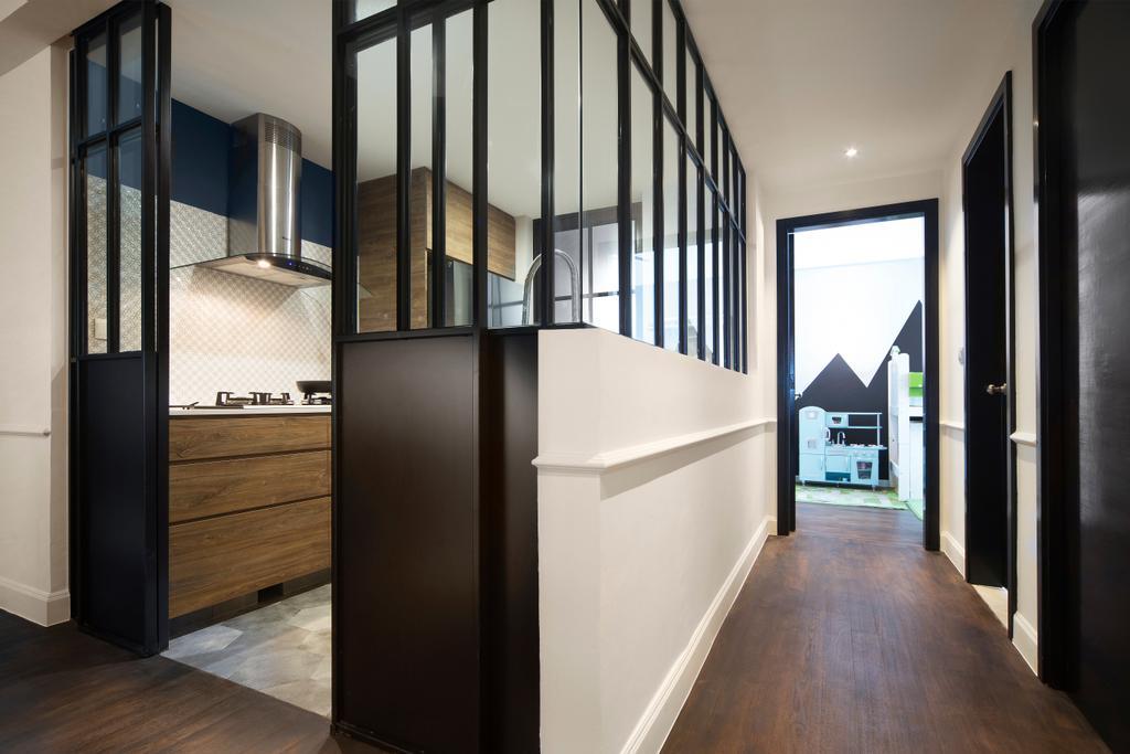Contemporary, Condo, Grand Duchess, Interior Designer, Fuse Concept, Corridor