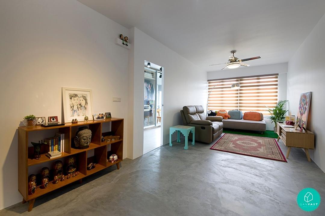 Do-It-Yourself Home Renovation: Roy's Adventure In Sengkang