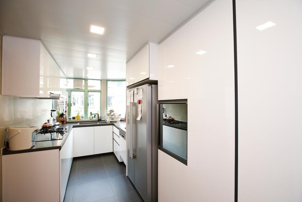 隨性, 獨立屋, 廚房, 湖景花園, 室內設計師, 和生設計, Indoors, Interior Design, Room