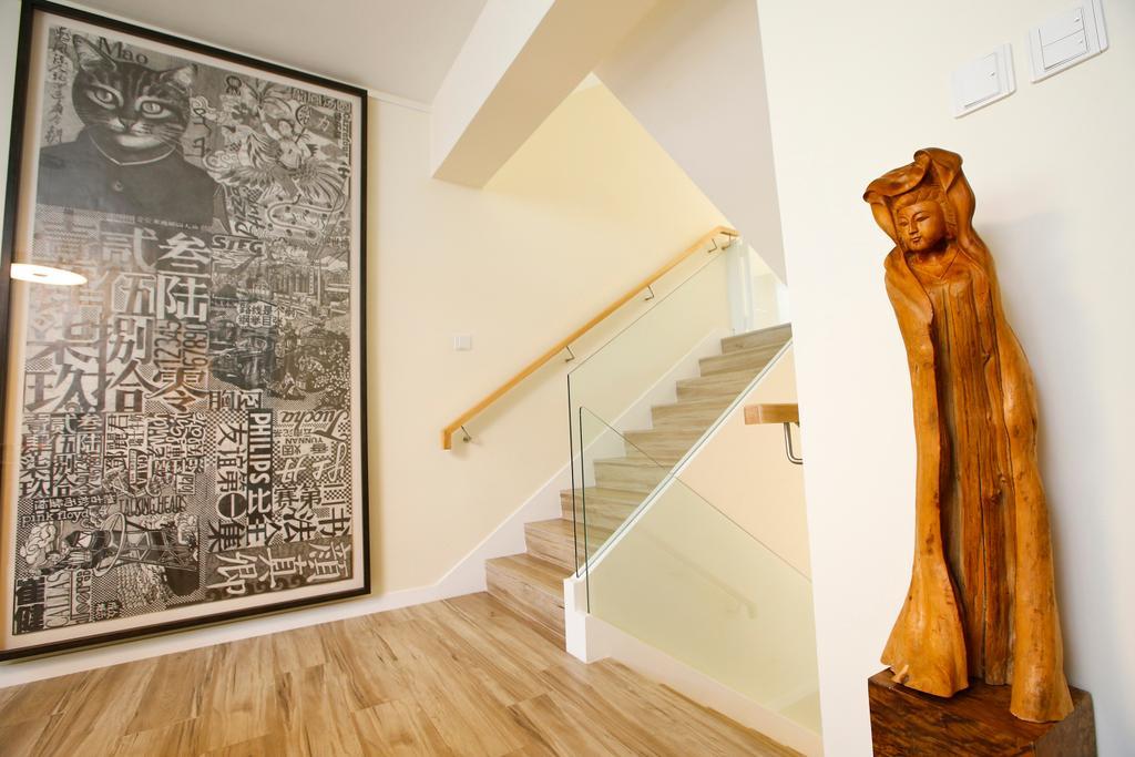 隨性, 獨立屋, 客廳, 湖景花園, 室內設計師, 和生設計, Human, People, Person, Art, Sculpture