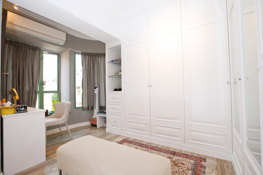 隨性, 獨立屋, 書房, 湖景花園, 室內設計師, 和生設計, Couch, Furniture