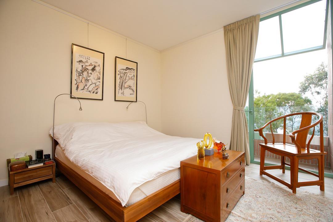 湖景花園, 和生設計, 隨性, 睡房, 獨立屋, Chair, Furniture, Window, Bed, Indoors, Interior Design, Room