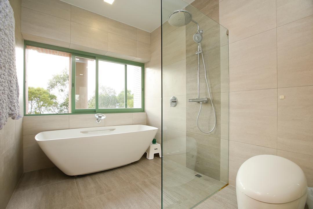 湖景花園, 和生設計, 隨性, 浴室, 獨立屋, Indoors, Interior Design, Room, Toilet