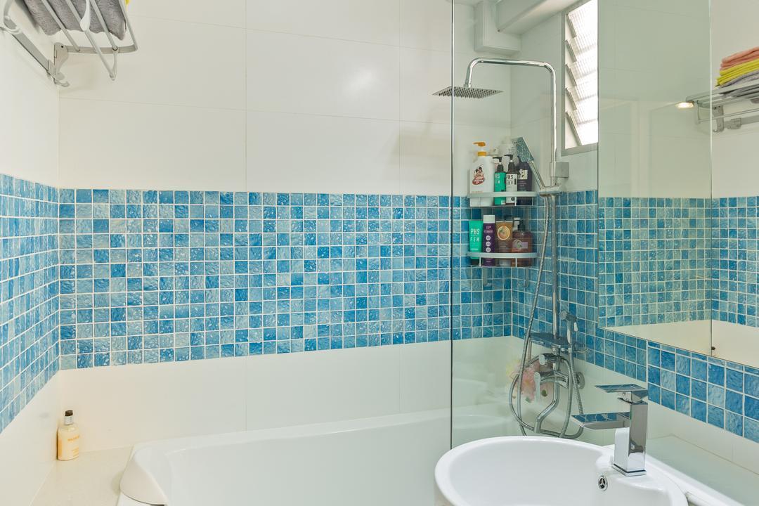 Bishan Street 22, The Design Practice, Modern, Bathroom, HDB, Indoors, Interior Design, Room, Sink