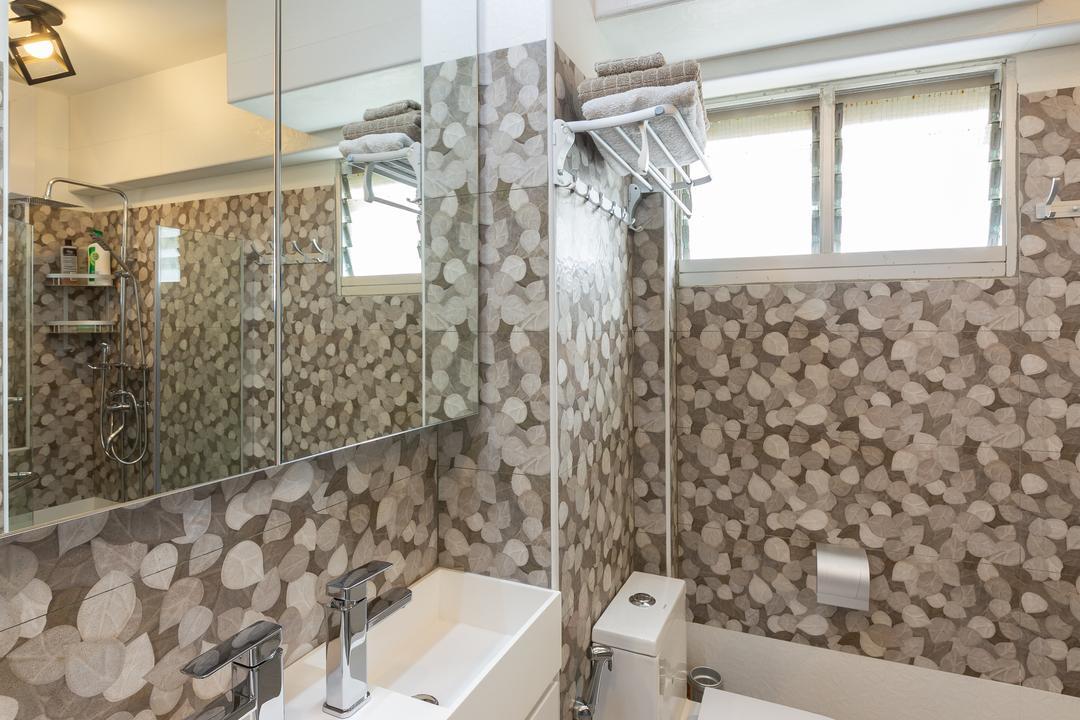 Bishan Street 22, The Design Practice, Modern, Bathroom, HDB, Indoors, Interior Design, Room, Home Decor, Linen