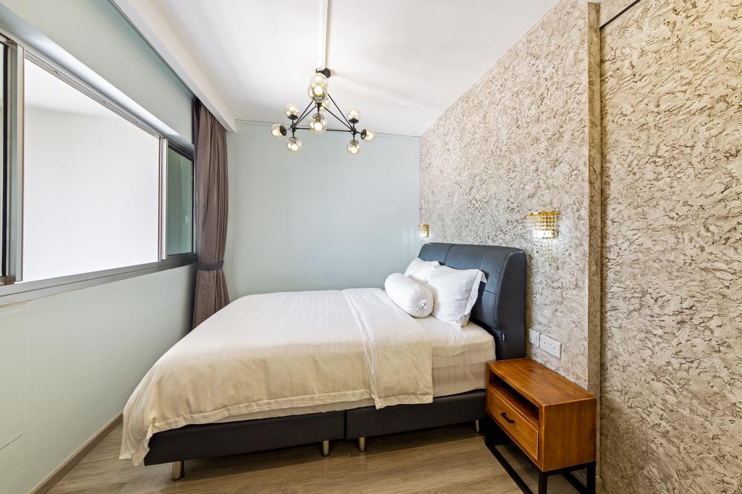 Bishan Street 22, The Design Practice, Modern, Bedroom, HDB, Indoors, Interior Design, Room, Bed, Furniture