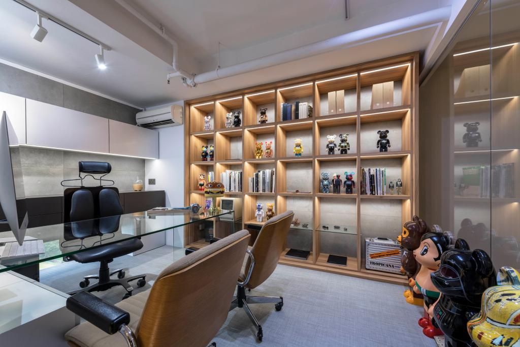 Lavender Street, Commercial, Interior Designer, Briey Interior, Contemporary, Human, People, Person, Jar, Pottery, Vase, Indoors, Interior Design, Library, Room
