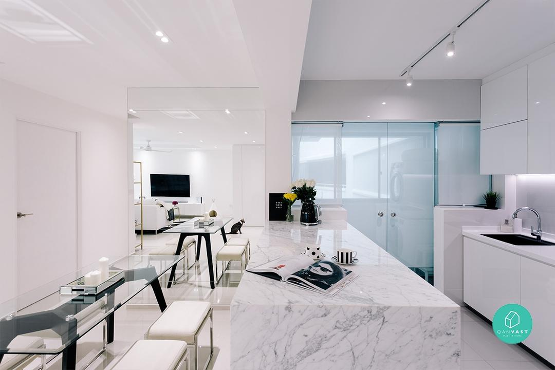How to Design an All-White Home (You Can Actually Live In) | Qanvast