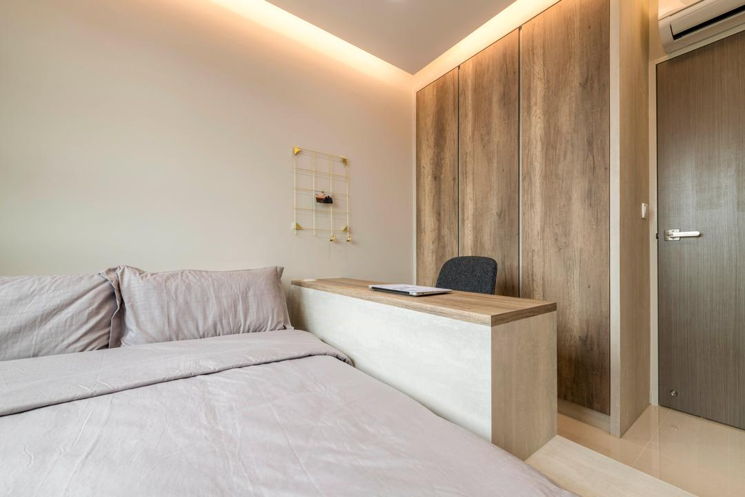 Boon Lay Avenue, DS 2000 Interior & Design, Modern, Bedroom, HDB, Bed, Furniture