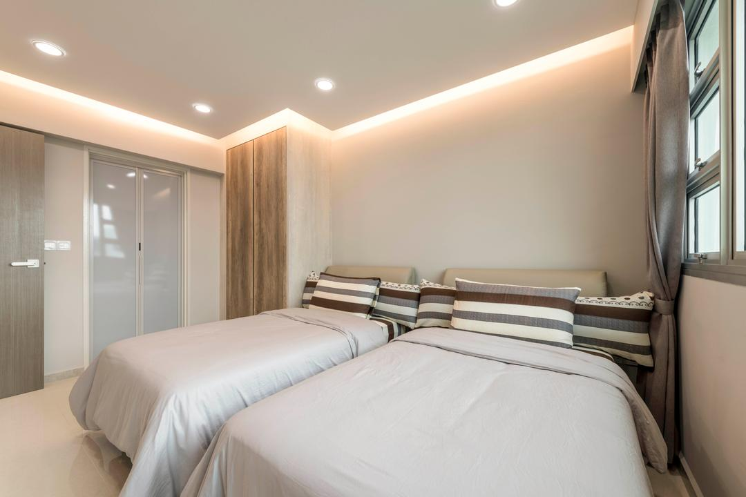 Boon Lay Avenue, DS 2000 Interior & Design, Modern, Bedroom, HDB, Bed, Furniture, Home Decor, Linen, Indoors, Room, Interior Design
