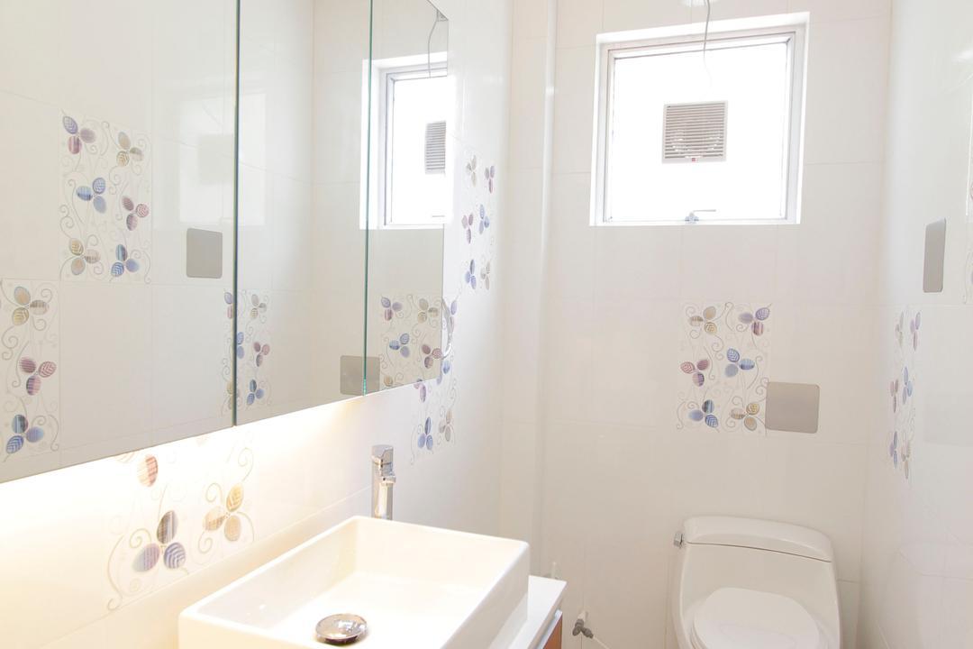 加州花園, 和生設計, 摩登, 浴室, 獨立屋, Toilet, Sink, Indoors, Interior Design, Room