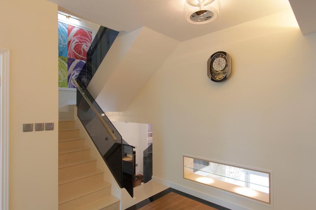加州花園, 和生設計, 摩登, 獨立屋, Banister, Handrail, Staircase, Indoors, Interior Design
