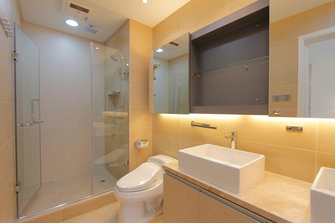加州花園, 和生設計, 摩登, 浴室, 獨立屋, Toilet, Indoors, Interior Design, Room