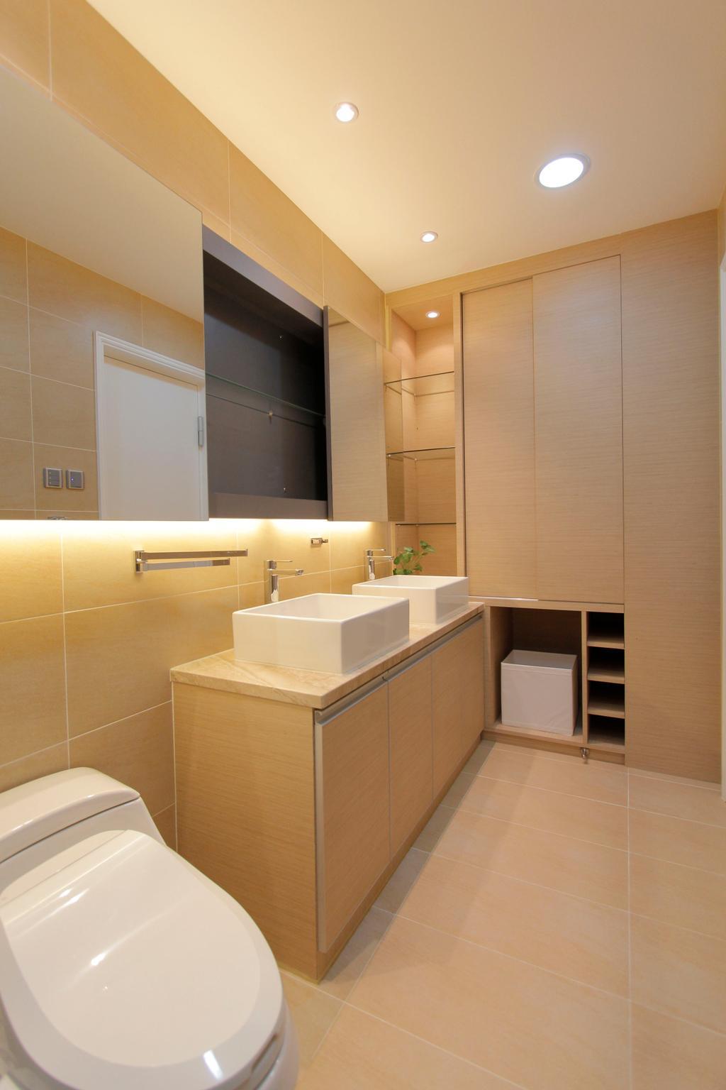 摩登, 獨立屋, 浴室, 加州花園, 室內設計師, 和生設計, Indoors, Interior Design, Room
