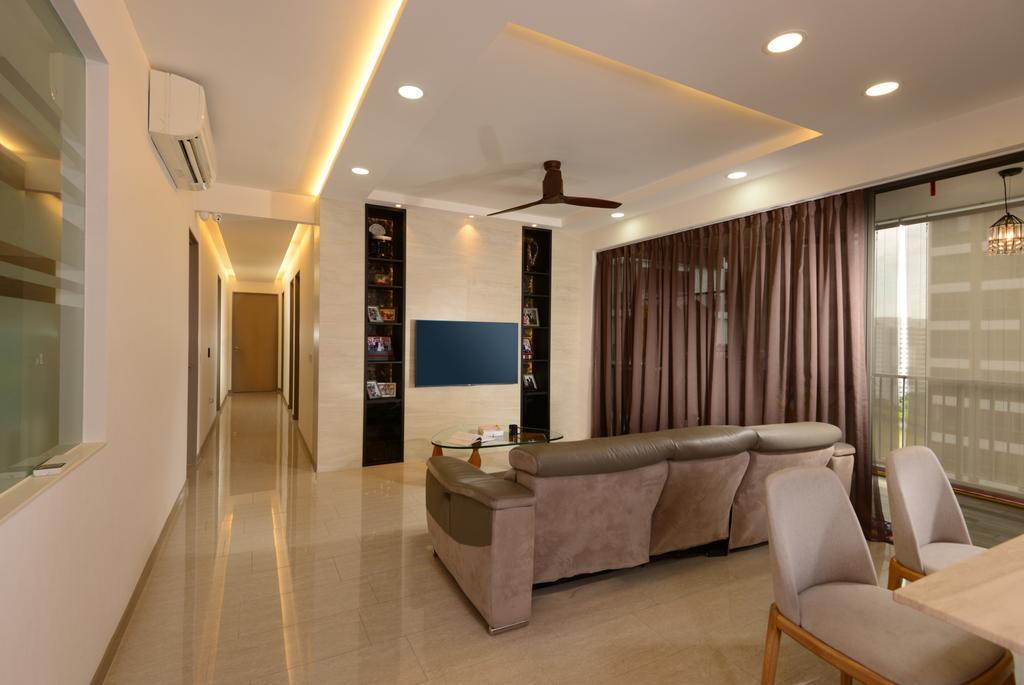 Modern, Condo, Punggol Field Walk, Interior Designer, Apex Design
