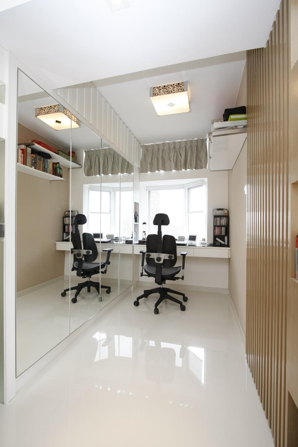 摩登, 私家樓, 書房, 黃金海岸, 室內設計師, 和生設計, Chair, Furniture
