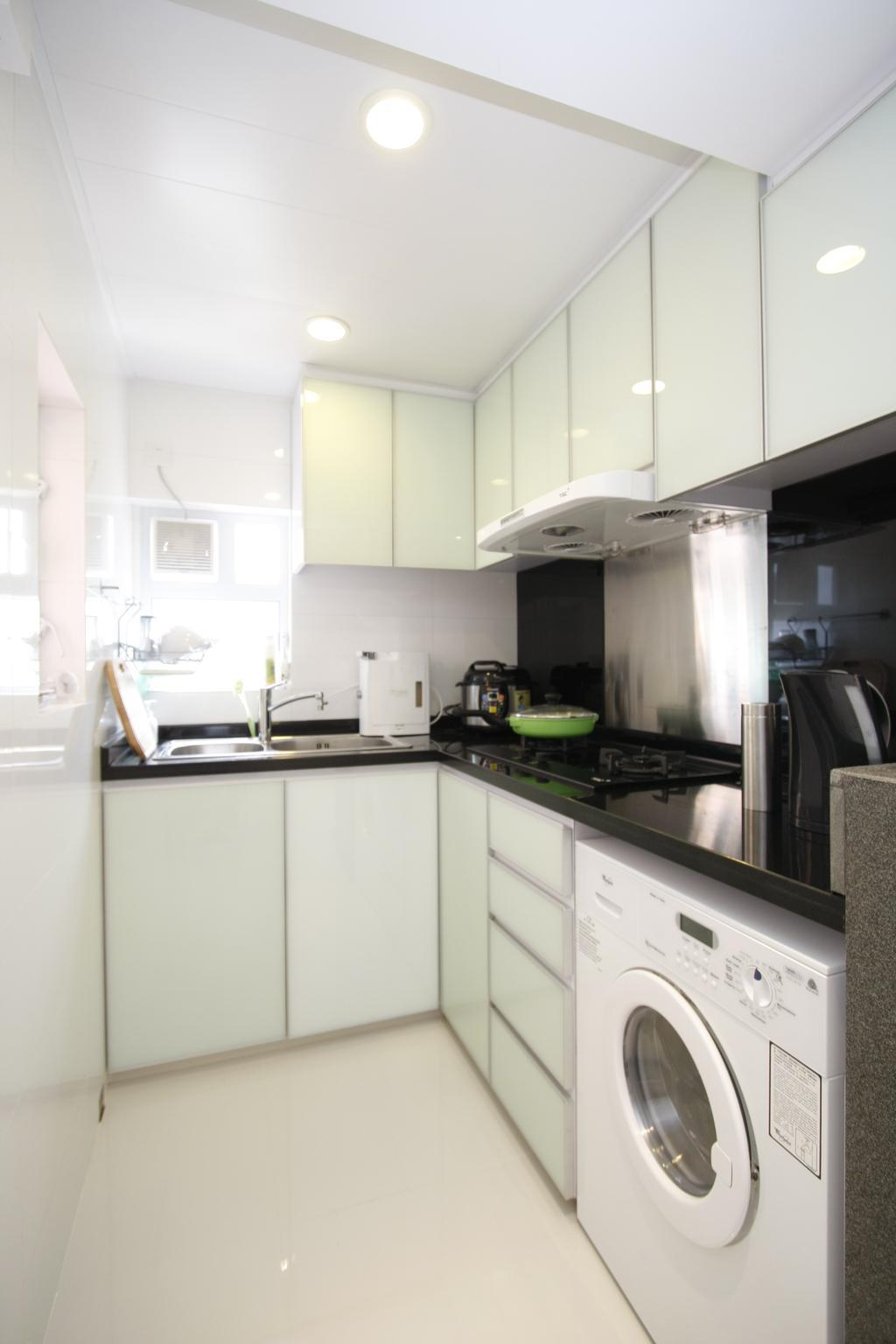 摩登, 私家樓, 黃金海岸, 室內設計師, 和生設計, Indoors, Interior Design, 廚房, Room, Sink