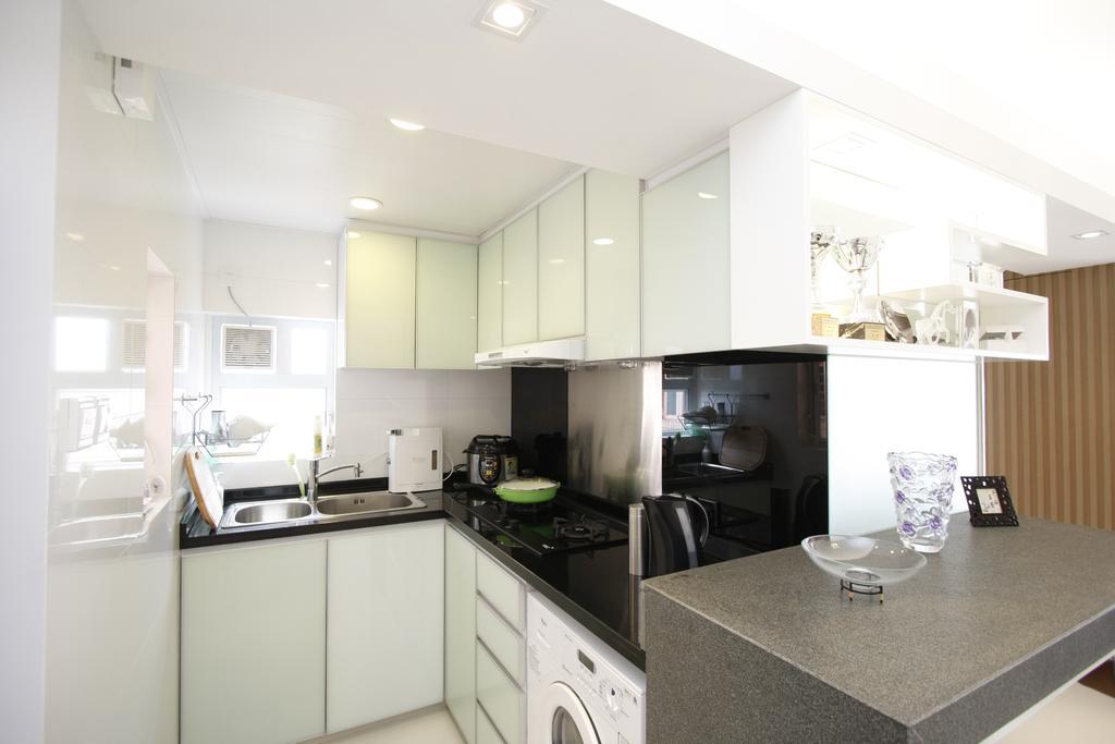 摩登, 私家樓, 廚房, 黃金海岸, 室內設計師, 和生設計, Indoors, Interior Design, Room, Sink