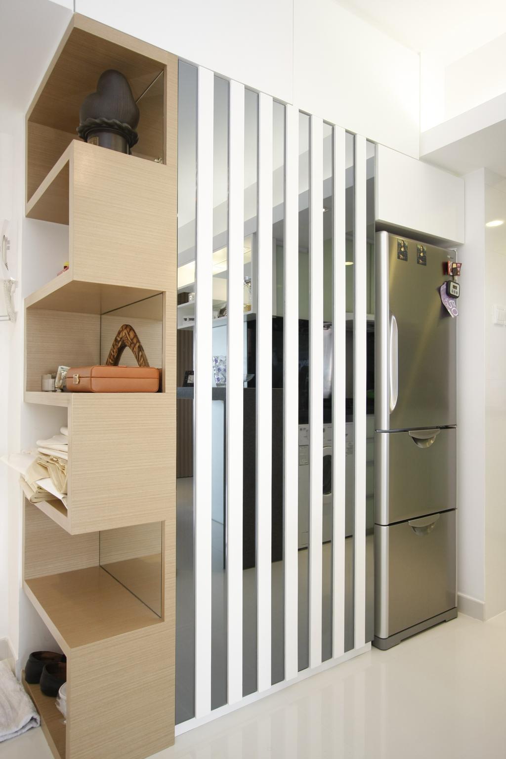 摩登, 私家樓, 黃金海岸, 室內設計師, 和生設計, Door, Folding Door