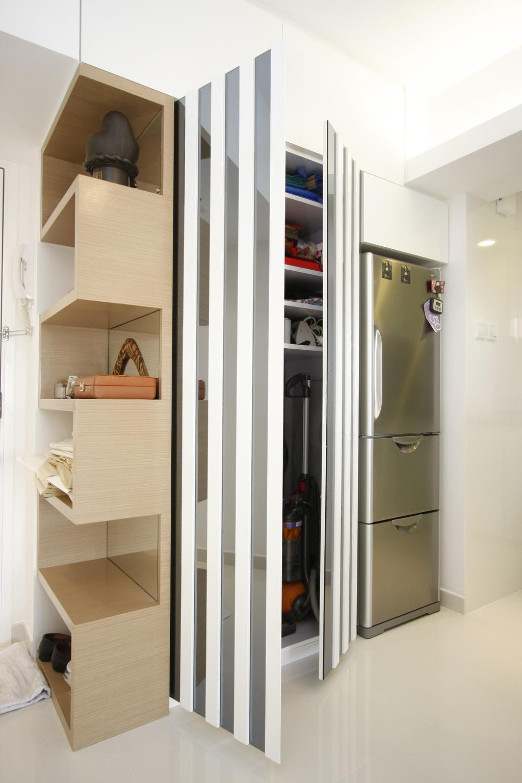摩登, 私家樓, 黃金海岸, 室內設計師, 和生設計, Door, Folding Door, Molding