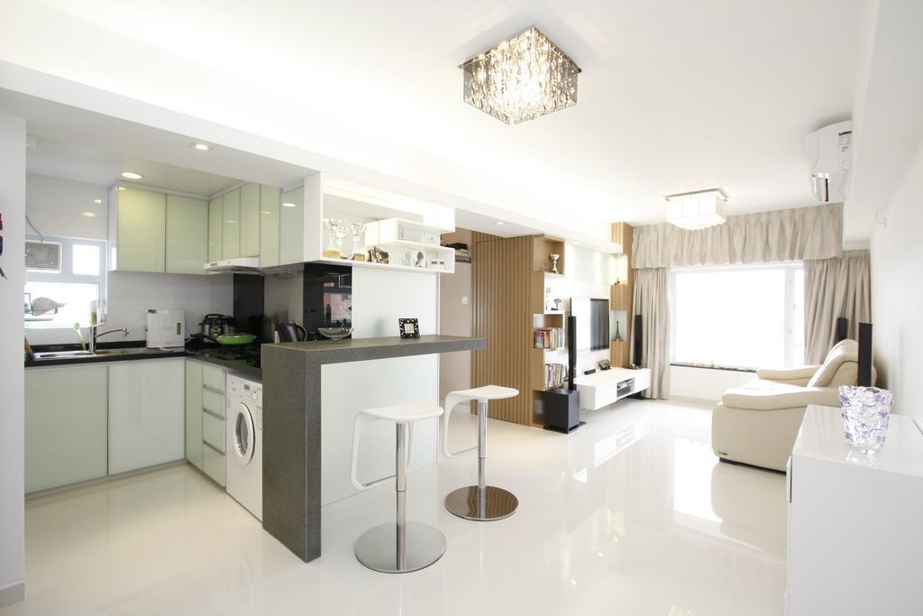 摩登, 私家樓, 飯廳, 黃金海岸, 室內設計師, 和生設計