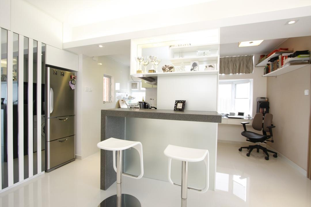 黃金海岸, 和生設計, 摩登, 飯廳, 私家樓, Bar Stool, Furniture, Indoors, Interior Design, Room