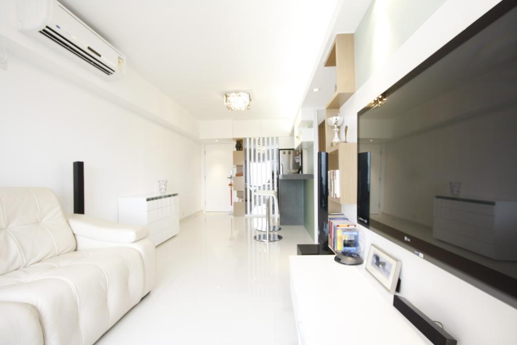 摩登, 私家樓, 客廳, 黃金海岸, 室內設計師, 和生設計