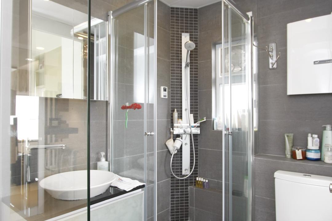 黃金海岸, 和生設計, 摩登, 浴室, 私家樓, Indoors, Interior Design, Room, Bathtub, Tub, Sink