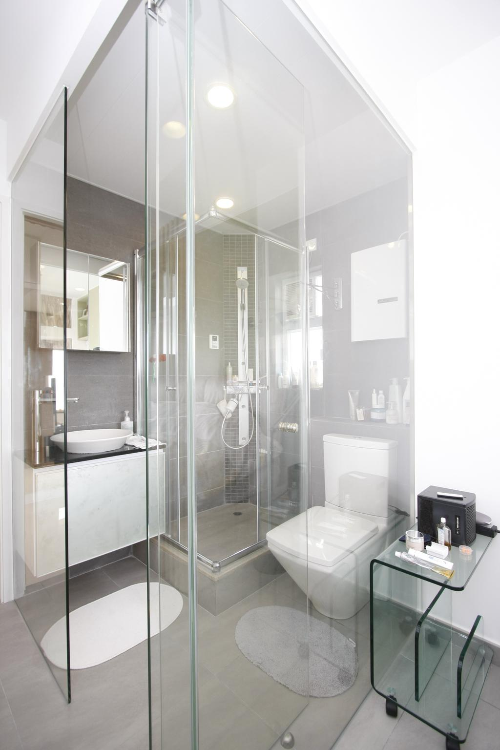 摩登, 私家樓, 浴室, 黃金海岸, 室內設計師, 和生設計, Indoors, Interior Design, Room