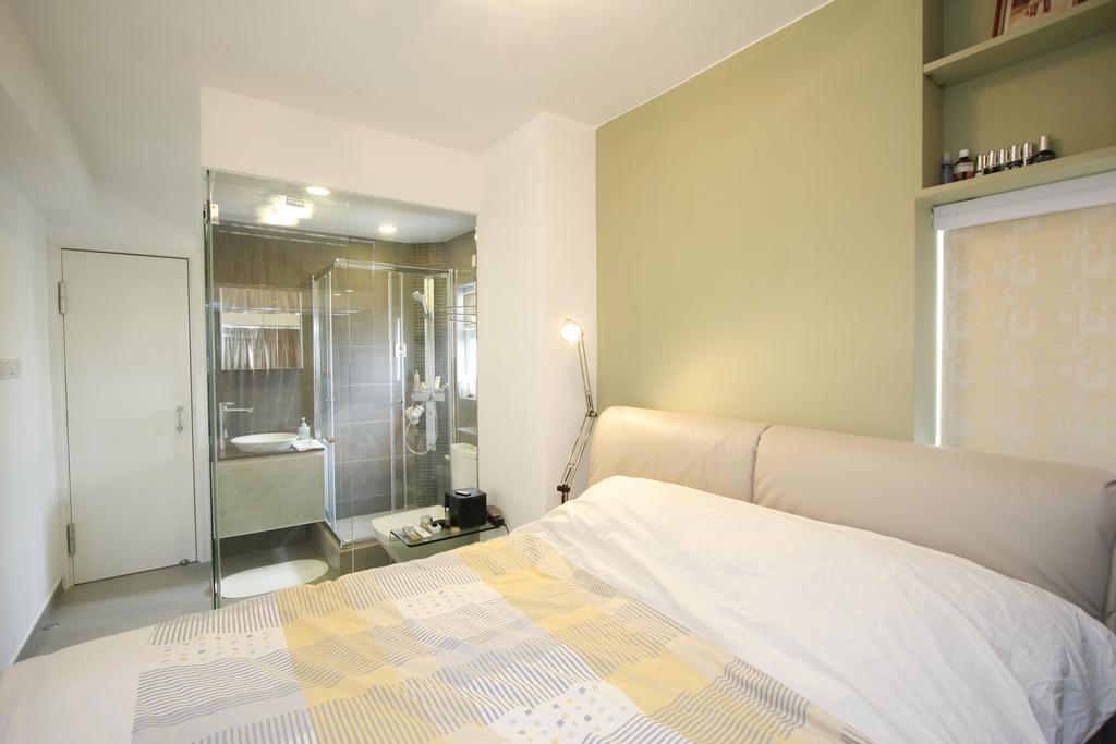 摩登, 私家樓, 黃金海岸, 室內設計師, 和生設計, Bed, Furniture, 睡房, Indoors, Interior Design, Room