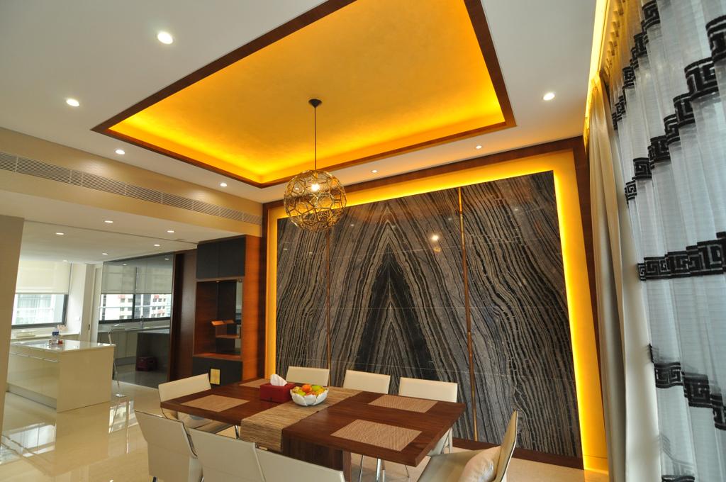 Transitional, Condo, Dining Room, Urban Resort, Interior Designer, GA7 Associates