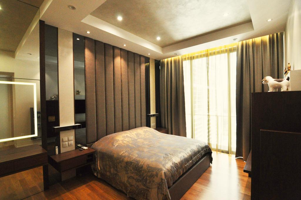 Transitional, Condo, Bedroom, Urban Resort, Interior Designer, GA7 Associates