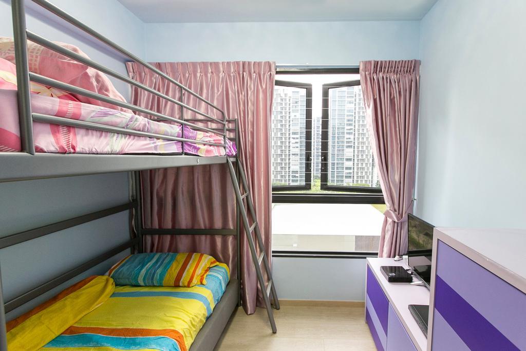 Modern, Condo, Bedroom, Lush Acres, Interior Designer, 9's Interior, Building, Hostel, Housing, Appliance, Electrical Device, Oven