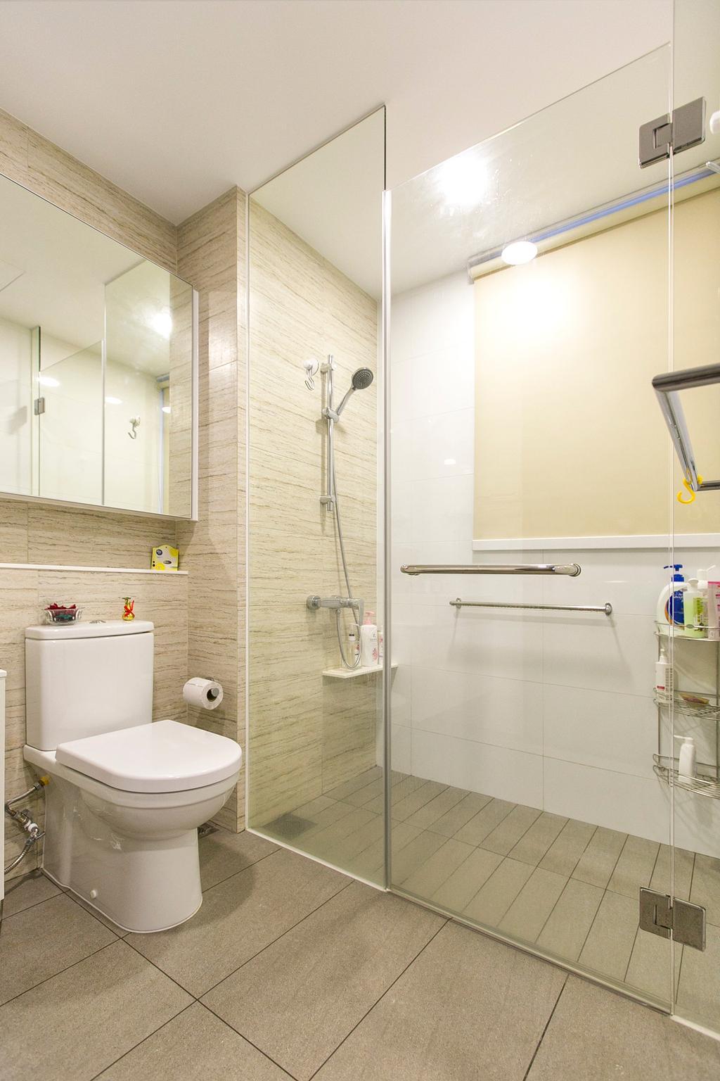 Modern, Condo, Bathroom, Lush Acres, Interior Designer, 9's Interior, Indoors, Interior Design, Room
